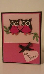 Owl Be Yours - smile160 by Smile160 - Cards and Paper Crafts at Splitcoaststampers