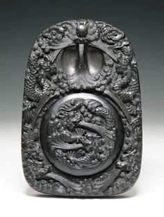 A Chinese Antique Carved Ink Stone