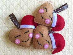 Un preferito personale dal mio negozio Etsy https://www.etsy.com/it/listing/175751392/cuori-babbo-natale-set-di-tre-biscottini