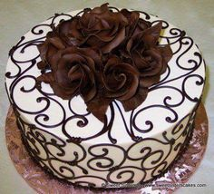 Super Ideas For Cupcakes Recipes White Buttercream Frosting Cake Decorating Tips, Cake Decorating Techniques, Cookie Decorating, Pretty Cakes, Beautiful Cakes, Amazing Cakes, Decoration Patisserie, Elegant Desserts, Specialty Cakes