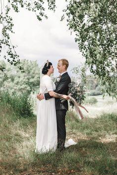   ETUSIVU Body M, So Much Love, Helsinki, Wedding Portraits, Wedding Photography, Wedding Dresses, Cry, Couple, Weddings