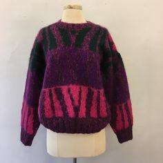 Coming soon: colorful & warm German wool sweater.