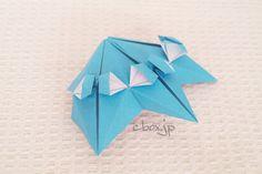 【折り紙】フリフリの傘 | 大人の折り紙インテリア Lumpia, Filipino, Origami, Banana, Origami Paper, Bananas, Fanny Pack, Origami Art