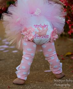 First Birthday Bloomers Precious Princess by DarlingLittleBowShop, $24.00