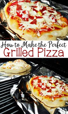 How to Make the Perfect Grilled Pizza with step-by-step directions plus my favorite pizza dough recipe! How to Make the Perfect Grilled Pizza with step-by-step directions plus my favorite pizza dough recipe! Ma Pizza, Pizza Lasagna, Pizza Food, Summer Grilling Recipes, Summer Recipes, Easy Grill Recipes, Pellet Grill Recipes, Grilling Ideas, Comida Pizza