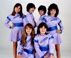 #TBT: TIMBIRICHE - 1982 | Timbiriche Sasha Sokol, Benny Ibarra, Diego Shoening, Mariana Garza, Paulina Rubio y Alix Bauer