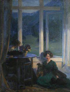 "poboh: "" A Truce, Frank Bramley. English (1857 - 1915) """
