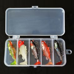 YeMuLang 5piece Anzol Pesca Fishing Lure Set Crankbait Isca Artificial Soft Lures Baits Silicone Articulos With Fishing Hook balik tutma leisure activities <3 AliExpress Affiliate's Pin. Find out more by clicking the VISIT button