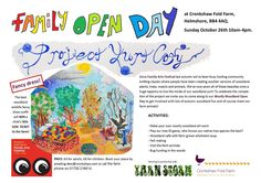 Open day at Cronkshaw Fold Farm Oct 26th 2014