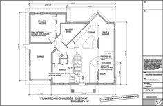 Exemple De Plans Pour Ajout Du0027étage: (page 2) 2  Plan Agrandissement De  Maison Rez De Chaussee. Consutez Tous Les Exemples De Plans Du0027agrandissement  De ...