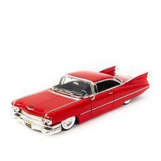 Cadillac Coupe de Ville 1959 Vermelho - Jada 1:24