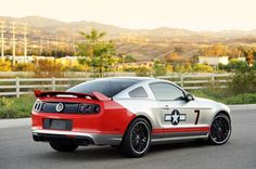 2013 Ford Mustang GT Red Tails Edition