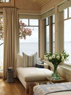 Pictures of beach houses - dream beach house - Sarahs Cottage - living room - Georgian Bay.JPG