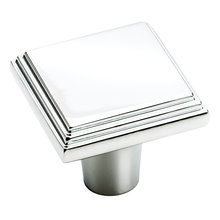 "View the Amerock BP26117 1"" Width Square Cabinet Knob from the Manor Collection at Handlesets.com."