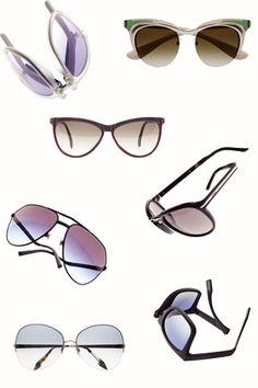 6958c89eb3 Del reto al futurismo en 25 gafas de sol Gafas De Sol Vintage, Anteojos,