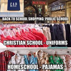 So... Which one are you? -@gmx0 #BaptistMemes #ChristianSchool #Homeschool