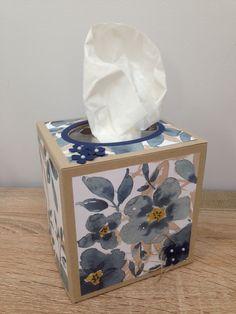 English Garden Tissue Box Cover