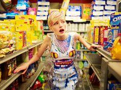 supermodel grocery store - Google Search