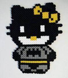 Hello Kitty Super Hero Perler Bead Ornaments