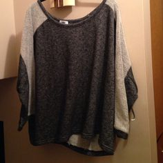 Two tone shirt ,75%cotton/ 25%polyester new, never worn Old Navy Tops Sweatshirts & Hoodies