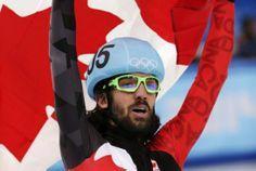 Charles Hamelin won gold in men's speed skating short-track 1,500-meter final GO CANADA!!!!!!