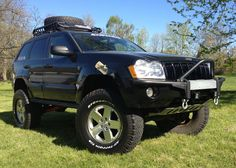 lifted 2005 jeep grand cherokee pictures | JBA Jeep Grand Cherokee WK Lift Kits