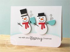 Art♥from♥the♥Heart: {Paper Smooches} We Wish You a Merry Christmas