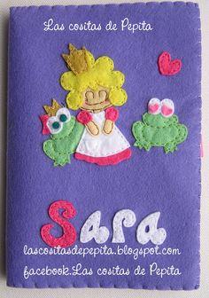 Para la princesita Sara una fundita muy especial.