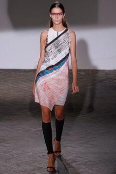 Cédric Charlier Spring 2013 Ready-to-Wear Fashion Show - Suzie Bird