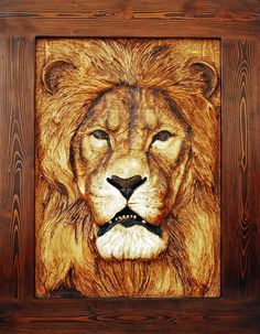 wood carvings of lions - Google Search