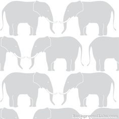 Elephants Seamless Pattern - Background Labs