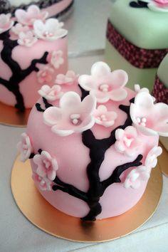 SAKURA BLOSSOMS on Deviant Art by  Artist Slice of Cake