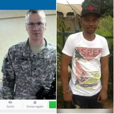 Look.. using he name of PATRICK HUTCHISON..the real face of the US Soldier whose identity he stole to scam on FB and dating sites. https://www.facebook.com/LoveRescuers/photos/a.591026027730495.1073741829.590625764437188/592836400882791/?type=3&theater