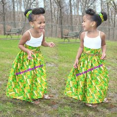 Hey, I found this really awesome Etsy listing at https://www.etsy.com/listing/256484566/toddler-green-african-print-skirt-ready
