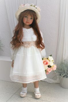 Just arrived beautiful Claire from Angela Sutter, order her now at www.dollconnectionstore.com, layaway and shipping worldwide 1-866-817-0795 You will LOVE CLAIRE!