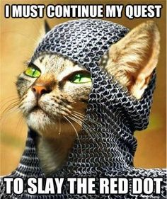 To Slay The Red Dot!!