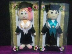 Handmade boneka wisuda dan pernikahan