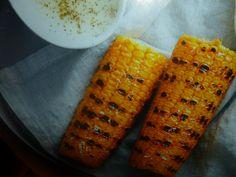 pannocchie arrostite con fonduta