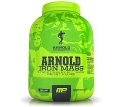 Arnold Schwarzenegger Series Iron Mass stands out amongst the competition as one of the best and most intelligently formulated mass gainer products on the market today. It contains a range of high-purity proteins, healthy fats, smart carbs, and digestive enzymes to ensure your body is getting everything it needs to recover from training.