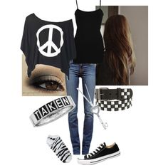 """Untitled #62"" by alto24ninja7 on Polyvore"