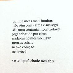 """Isabela Bussade no Instagram: """"Achei lindas essas palavras. Achei lindo lembrar o que esta atrás do tempo fechado. #covidbrasil #amanhahadeseroutrodia…"""" Instagram, Weather, Words"""