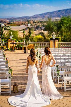 Rustic, elegant fall mountain wedding with interfaith Jewish ceremony LGBTQ+ weddings two brides Mrs. Romantic Weddings, Elegant Wedding, Real Weddings, Bohemian Weddings, Wedding Vintage, Wedding Rustic, Wedding Menu, Fall Mountain Wedding, Fall Wedding