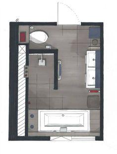 Badkamer op zolder google zoeken zolder badkamer pinterest search design and layout - Lay outs badkamer ...