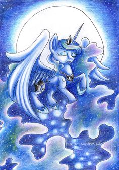 Moon Princess by Lunar-White-Wolf.deviantart.com on @DeviantArt