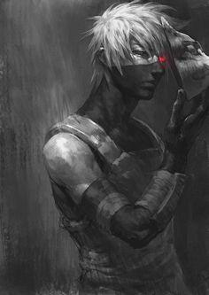 fan art - Kakashi (naruto)