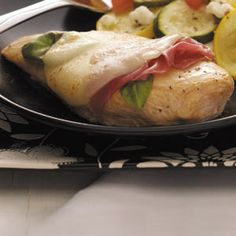 Chicken Provolone Recipe from Taste of Home -- shared by Dawn Bryant of Thedford, Nebraska