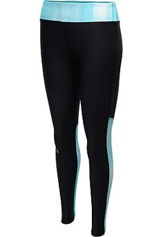 The pop of color on the leg and waistband panels on these @underarmour women's HeatGear Alpha leggings make 'em a fabulously fun option for your next workout! #GiftOfSport