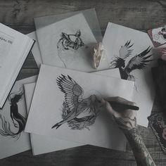 #tattoo #tattoos #dotwork #blackwork #tattooing #art #sketch #illustration #drawing #draw #ink #velesova