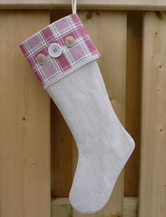 Linen Christmas Stockings - Bing Images