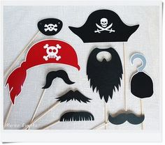 Photocall pirata para comunión pirata Merbo Events